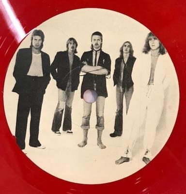 THE TEARS - TONIGHT TONIGHT / Too Big Red vinyl single (LP)