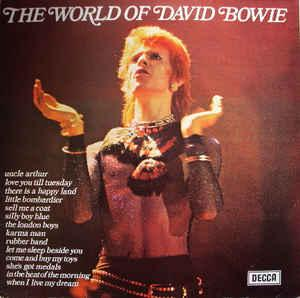 BOWIE, DAVID - THE WORLD OF DAVID BOWIE UK 1973 edition (LP)