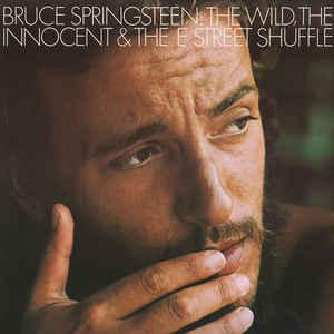 SPRINGSTEEN, BRUCE - THE WILD, THE INNOCENT & THE E STREET SHUFFLE Dutch 80:s re-issue, red labels (LP)