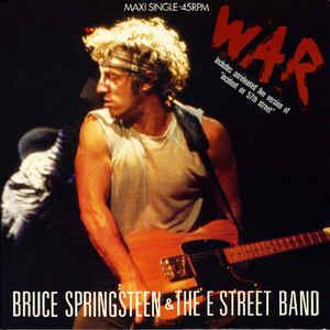 "SPRINGSTEEN, BRUCE - WAR Dutch maxi single (12"")"