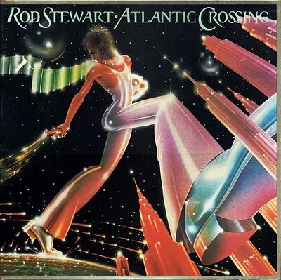 STEWART, ROD - ATLANTIC CROSSING Scarce Dutch orange vinyl edition (LP)