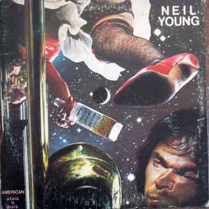 YOUNG, NEIL - AMERICAN STARS 'N BARS Canadian pressing (LP)