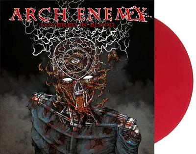 ARCH ENEMY - COVERED IN BLOOD Bloodred vinyl, Limited edition 200 copies from Hot Stuff Exclusive (2LP)