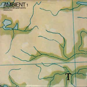 ENO, BRIAN - AMBIENT 1 (MUSIC FOR AIRPORTS) U.S. 1982 edition (LP)