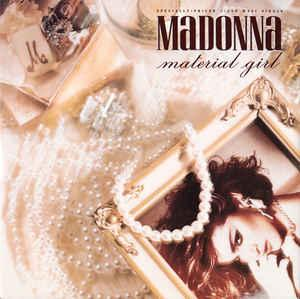"MADONNA - MATERIAL GIRL U.S. maxi single (12"")"