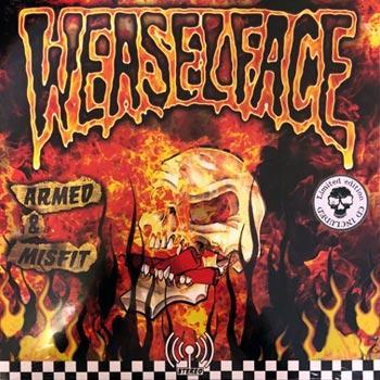 WEASELFACE - ARMED & MISFIT Limited Edition Lp + CD (LP)