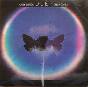 GARY BURTON / CHICK COREA - DUET German pressing (LP)