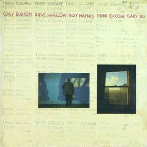 BURTON, GARY - TIMES SQUARE German pressing (LP)
