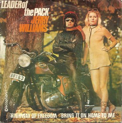 "WILLIAMS, JERRY - HIGHWAY OF FREEDOM / BRING IT ON HOME TO ME Scarce Spanish ps! (7"")"