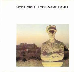 SIMPLE MINDS - EMPIRES AND DANCE UK pressing, OVED sticker (LP)