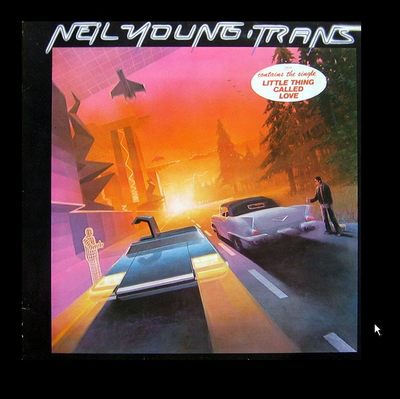 YOUNG, NEIL - TRANS Dutch pressing (LP)
