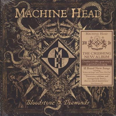 BLOODSTONE & DIAMONDS  180 gram, Gatefold sleeve