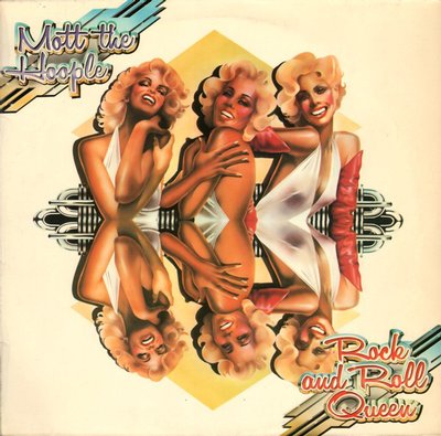 MOTT THE HOOPLE - ROCK AND ROLL QUEEN UK Original Pressing (LP)