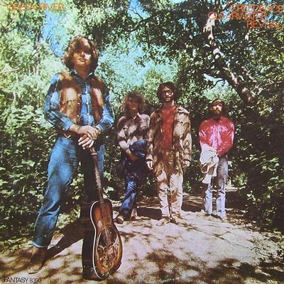 CREEDENCE CLEARWATER REVIVAL - GREEN RIVER U.S. pressing (LP)