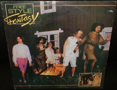 FREESTYLE - FANTASY Rare Portuguese edition, English versions (LP)