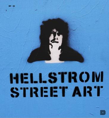 HELLSTROM STREETART - BOK - Grafittibok med motiv baserade på Håkan Hellström texter (BOOK)