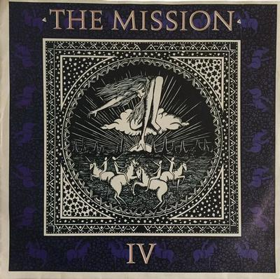 "MISSION, THE - WASTELAND / SHELTER FROM THE STORM Dutch ps (7"")"