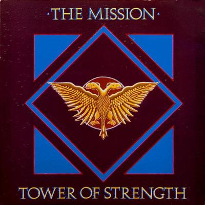 "MISSION, THE - TOWER OF STRENGTH + 2 UK ps, paper labels (7"")"