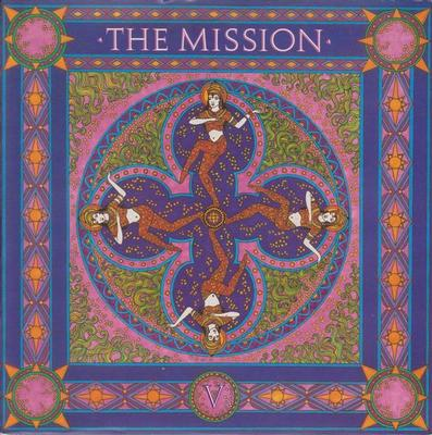 "MISSION, THE - SEVERINA / TOMORROW NEVER KNOWS UK ps, paper labels (7"")"