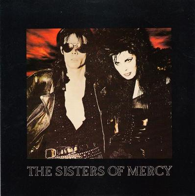 "SISTERS OF MERCY, THE - THIS CORROSION / TORCH UK ps, paper labels (7"")"
