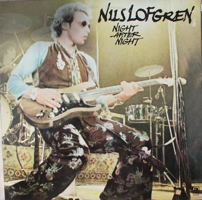 LOFGREN, NILS - NIGHT AFTER NIGHT Double album, Dutch pressing (2LP)