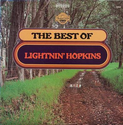 HOPKINS, LIGHNIN' - THE BEST OF LIGHTNIN' HOPKINS U.S. pressing (LP)