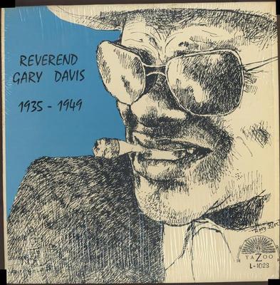 DAVIS, REVEREND GARY - 1935-1949 U.S. pressing (LP)