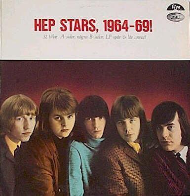 HEP STARS, THE - 1964-69 Double album, 1982 compilation. (2LP)