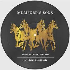 """MUMFORD  &  SONS - DELTA ACOUSTIC SESSION RSD 2019, 10"""" Picture disc (10"""")"""