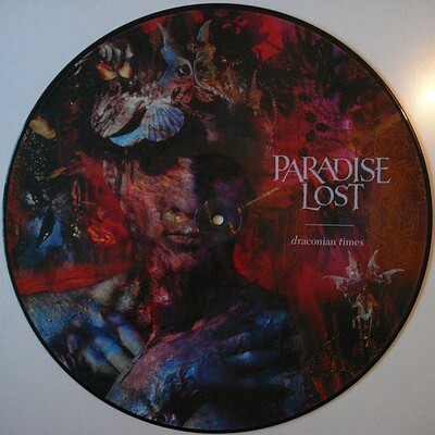 PARADISE LOST - DRACONIAN TIMES Rare UK ltd edition picture disc, numbered (LP)