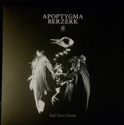 APOPTYGMA BERZERK - SOLI DEO GLORIA Black Vinyl, 500 copies (LP)