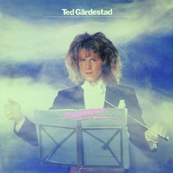 GÄRDESTAD, TED - STORMVARNING Scarce 1981 album (LP)