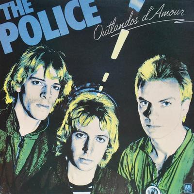 POLICE, THE - OUTLANDOS D'AMOUR Rare UK blue vinyl edition (LP)