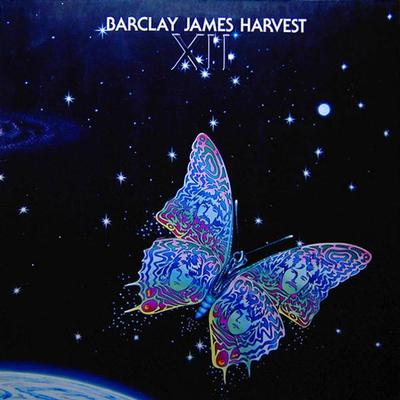 BARCLAY JAMES HARVEST - XII Scandinavian pressing, with poster (LP)