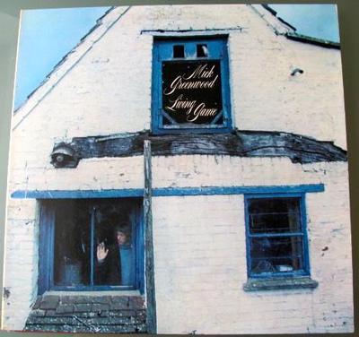 GREENWOOD, MICK - LIVING GAME German pressing, gatefold (LP)