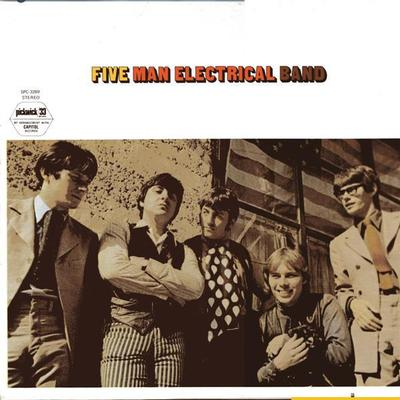 FIVE MAN ELECTRICAL BAND - FIVE MAN ELECTRICAL BAND U.S. 70:s re-issue (LP)