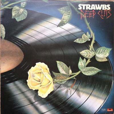 STRAWBS - DEEP CUTS UK pressing (LP)