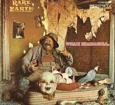 RARE EARTH - WILLIE REMEMBERS German pressing, gatefold sleeve (LP)