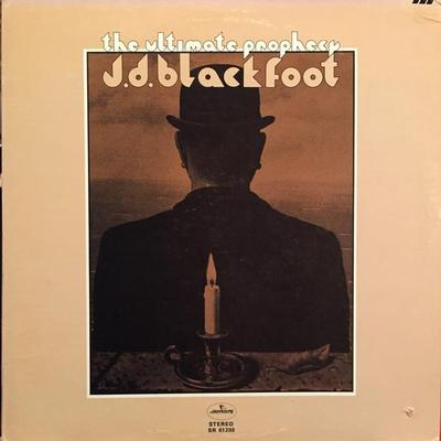 BLACKFOOT, J.D. - THE ULTIMATE PROPHECY U.S. pressing (LP)
