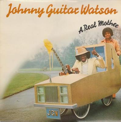 WATSON, JOHNNY GUITAR - A REAL MOTHER Dutch pressing (LP)