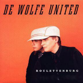 HANSSON DE WOLFE UNITED - ROULETTENBURG Mega-rare testpressing/promo set including infosheet, poster and photo! (LP)