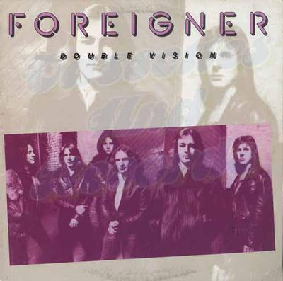 FOREIGNER - DOUBLE VISION German '80:s re-issue (LP)