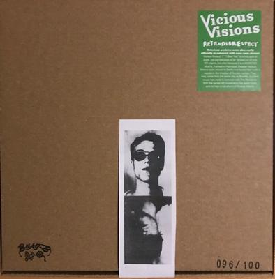 VICIOUS VISIONS - RETRODISRESPECT 1980-83 Limited Edition 100 copies, Box set with Red Vinyl, T-shirt CD, + Poster (LP)