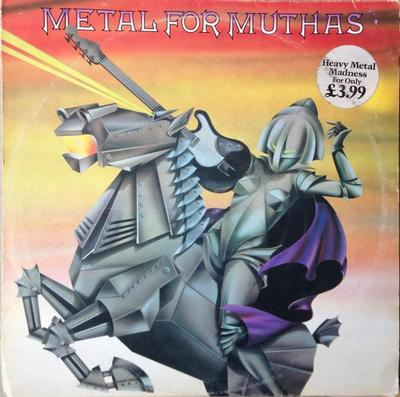 VARIOUS ARTISTS (METAL / HARD ROCK) - METAL FOR MUTHAS Iron Maiden, Samson, a.o. (LP)