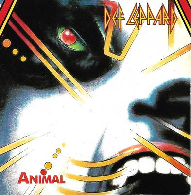 "DEF LEPPARD - ANIMAL / TEAR IT DOWN French ps (7"")"