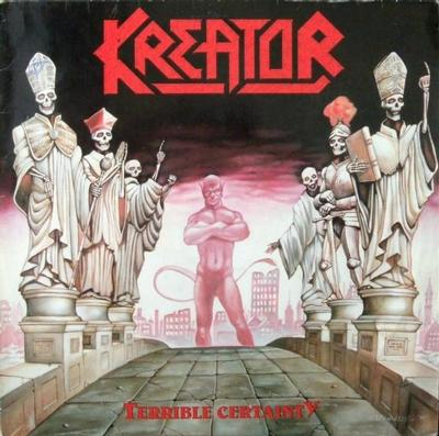 KREATOR - TERRIBLY CERTAINTY Coloured (2LP)