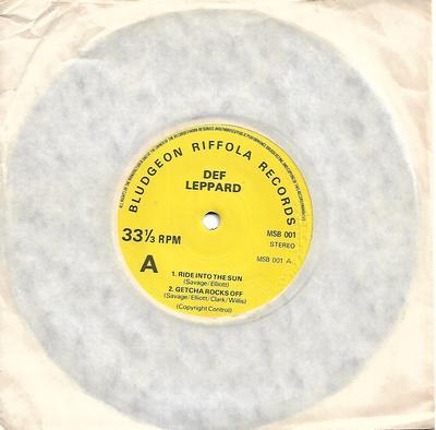 """DEF LEPPARD - THE DEF LEPPARD EP (LYN 6979/6980 pressing) (7"""")"""