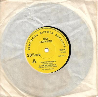 "DEF LEPPARD - THE DEF LEPPARD EP (7"")"