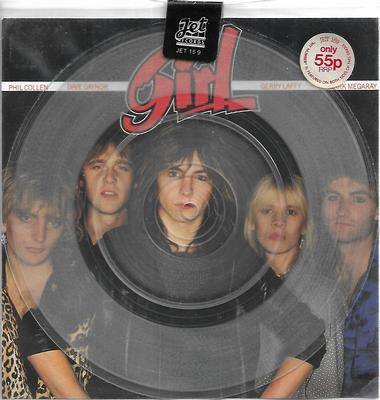 "GIRL - MY NUMBER / MY NUMBER UK clear vinyl edition, sealed (7"")"