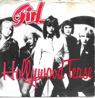 "GIRL - HOLLYWOOD TEASE / YOU REALLY GOT ME / MY NUMBER UK ps (7"")"